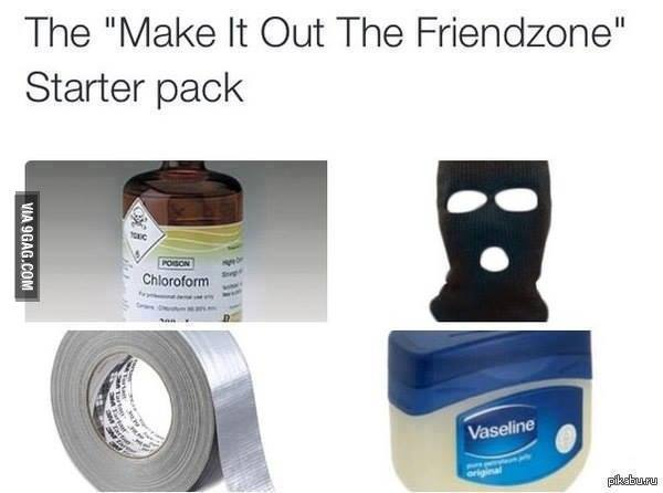 friendzone starter pack
